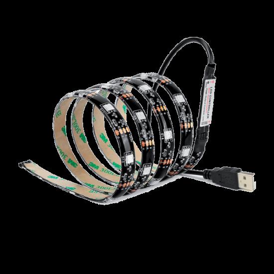 USB LED STRIP 5050 5VDC 30PCS/M IP20 RGB