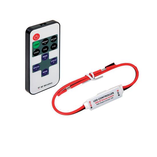 RF MINI RGB USB LED CONTROLLER WITH REMOTE