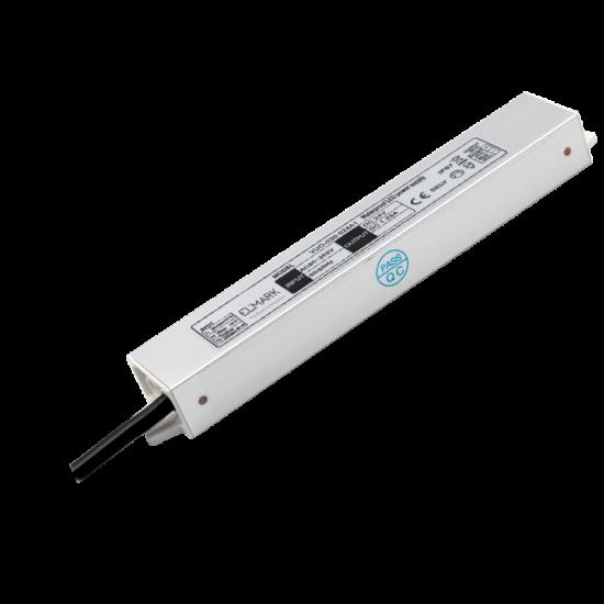 THIN LED DRIVER 48W 24VDC IP67