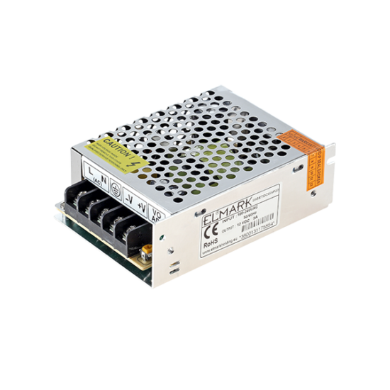 SETDC60 TÁPEGYSÉG LEDHEZ 60W 230AC/12VDC IP20