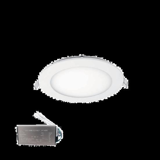 STELLAR LED PANEL KÖR 12W 6500К D174mm+INVERTERREL