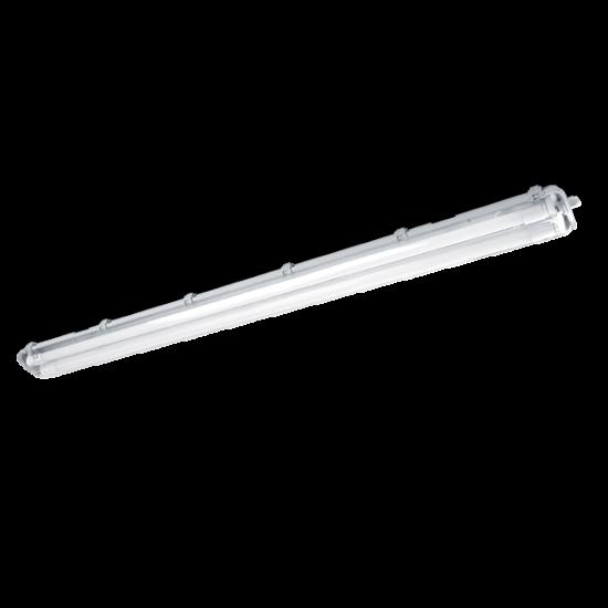 BELLA LÁMPATEST LED FÉNYCSŐVEL (1200mm) 2X18W 6200K-6500K IP65