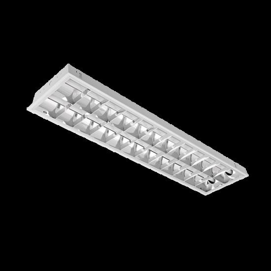 LENA-V LÁMPATEST LED FÉNYCSŐVEL(1200MM) 2X18W 6200K BM 1195/295 TYPE V
