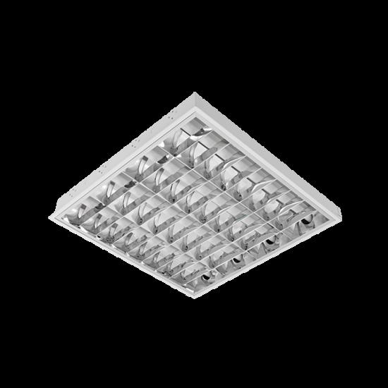 LENA-V LÁMPATEST LED FÉNYCSŐVEL(600MM) 4X9W 4000K BM 595/595 TYPE V
