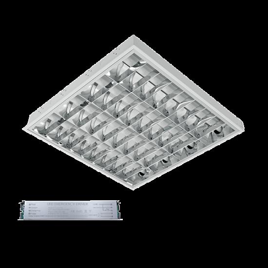 LENA-V LED 600mm 4X9W 6400K BM 595X595mm