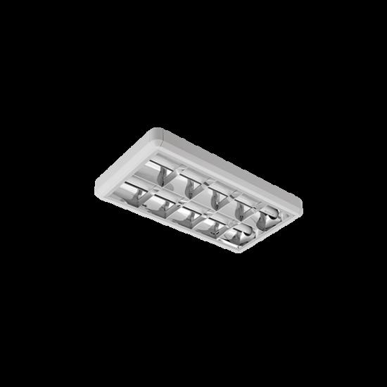 LENA-V LÁMPATEST LED FÉNYCSŐVEL(600MM) 2X9W 4000K OM 300/600 TYPE V