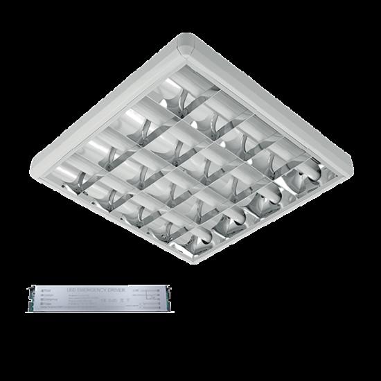 LENA-V LED 600mm 4X9W 6400K OM 630X630mm