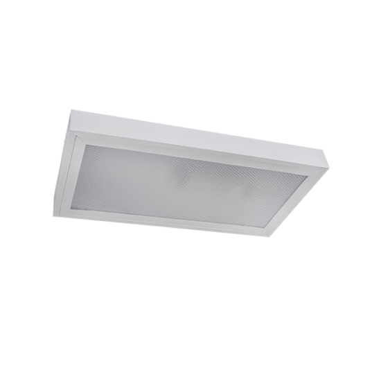 PRISMATIC LIGHTING FIXTURE WITH LED TUBE T5 2X10W OM 4000K