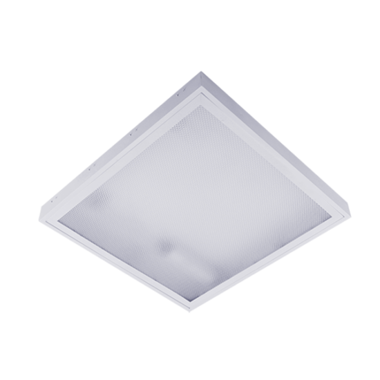 PRISMATIC LIGHTING FIXTURE WITH LED TUBE T5 4X10W OM 4000K