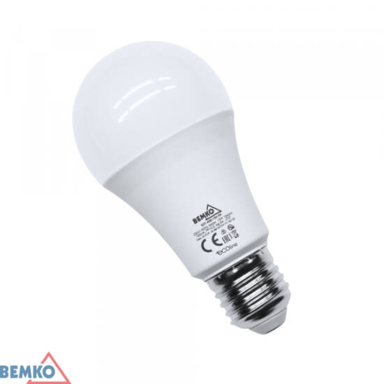 LED izzó gömb 18W E27 3000K Ecoline A65