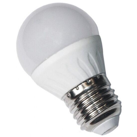 LED izzó kisgömb 6W 500lm E27 3000K Ecoline gled