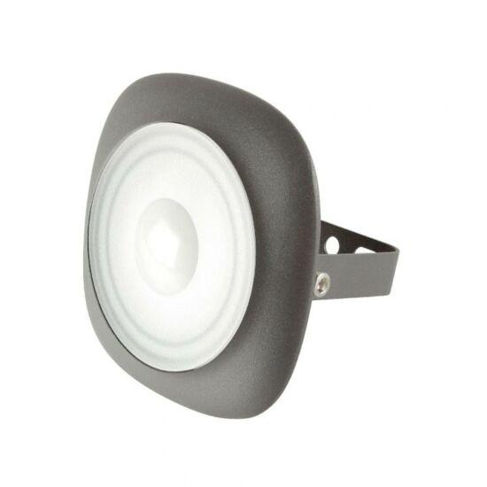 20 W LED fényvető, kör alakú, szürke, 1400 lm, 4500 K